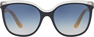 Burberry Square Sunglasses For Women, Blue & Grey - BE4270 37324L 55