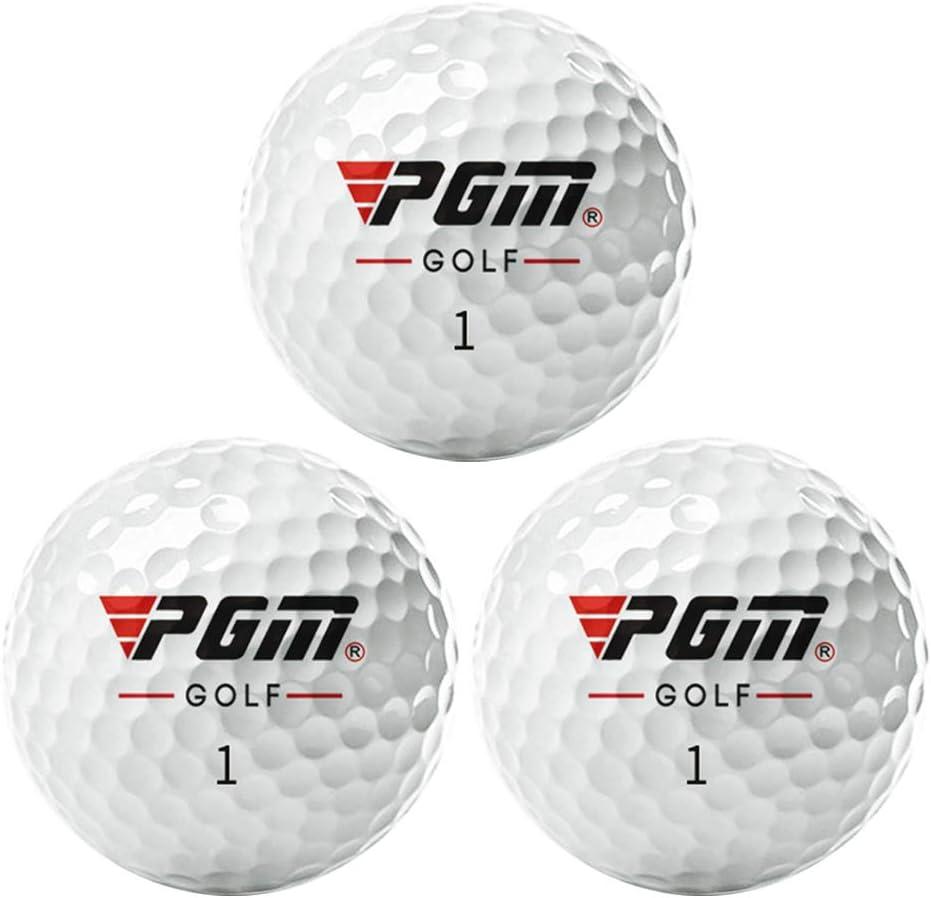 Ayangg Golf Balls with Low Drag Aerodynamic Design( 70% Ela