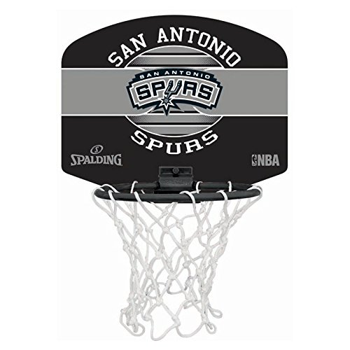 Spalding NBA Miniboard Sa Spurs Basketball, Mehrfarbig, One Size