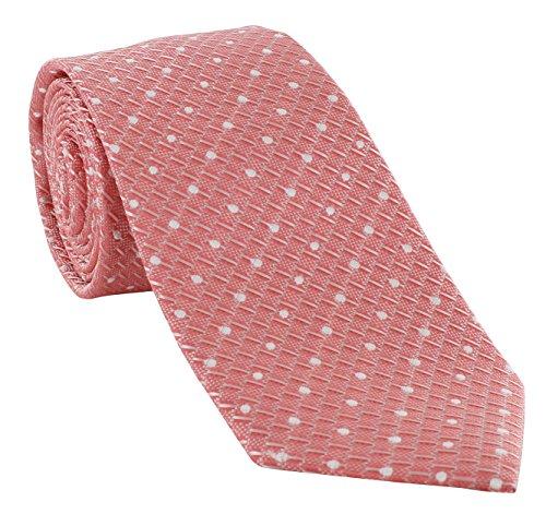 Michelsons of London - Corbata - para hombre rosa coral Talla única