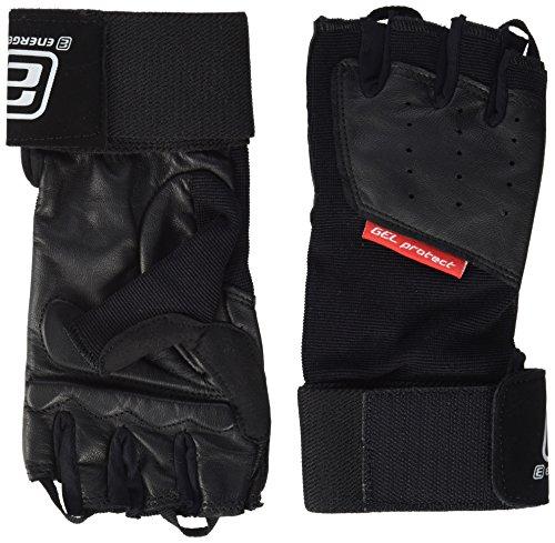 ENERGETICS Handschuh Training Wrist Wrap Trainingshandschuhe, Schwarz, S