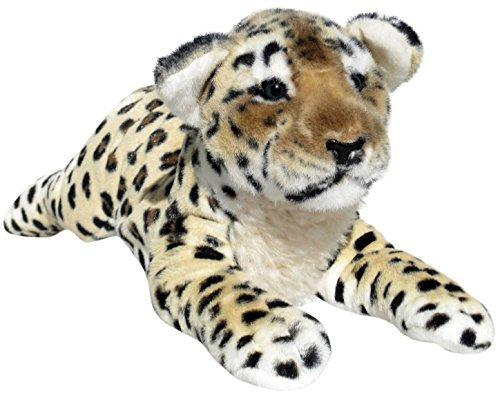 Wagner 2046 - Plüschtier Leopard Baby - liegend - 50 cm