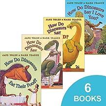 How Do Dinosaurs 6-Book Set: How Do Dinosaurs Say I'm Mad? How Do Dinosaurs Eat Their Food? How Do Dinosaurs Say Good Nigh...
