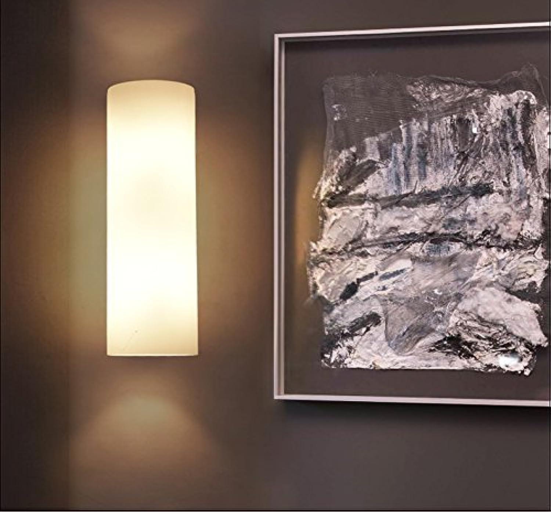 XIAPENGLED-Wandleuchte Schlafzimmer Nachttischlampe modernen minimalistischen Glas Nordic Japanischen Stil Wohnzimmer Gang Treppenhaus Wandleuchte
