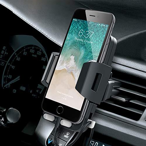 Avolare Handyhalterung Auto Lüftung Handyhalter fürs Auto KFZ Lüftung Halter 360 Grad Drehbar für iPhone 11 Pro, Xs Max, XR, X, 8, 7, 6, Samsung S10 S9 S8 S7 S6, Huawei, andere Smartphone