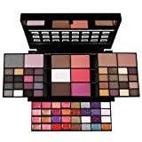 FantasyDay Makeup Gift Set All In One Makeup Palette Cosmetic Contouring Kit 74 Colors Eyeshadow Palette with Lip Gloss, Face Powder, Blush, Concealer and Mirror - Ideal Holiday Gift Set