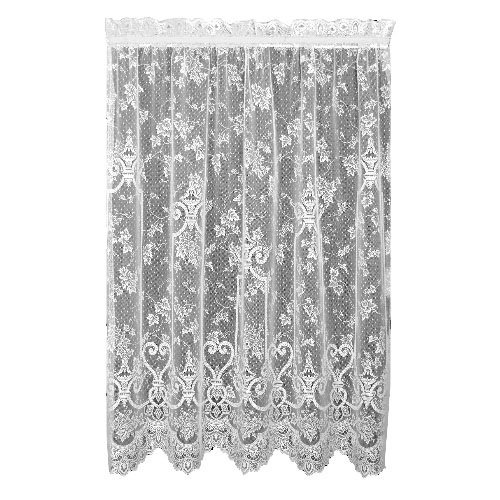 Heritage Lace English Ivy 60-Inch Wide by 84-Inch Drop Panel, Ecru