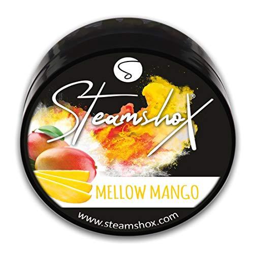 SteamshoX® Mellow Mango Dampfsteine 70 g - Shisha Steam Stones - nikotinfreier Tabakersatz für Wasserpfeifen