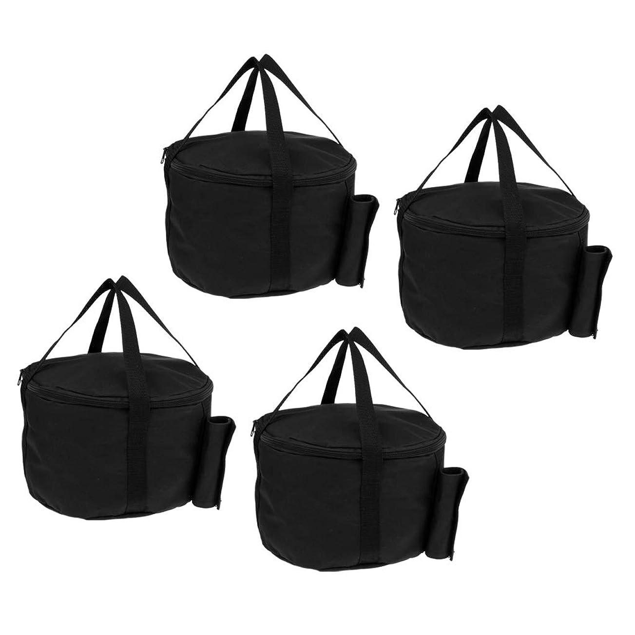 アグネスグレイビルダーパブPerfeclan 4個 キャノピーテント 傘ベース サンドバッグ ウェイトバッグ おもり 砂袋 アウトドア キャンプ