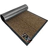 Gorilla Grip Original Low Profile Rubber Door Mat, 72x48, Heavy Duty, Durable Doormat for Indoor and Outdoor, Waterproof, Easy Clean, Home Rug Mats for Entry, Patio, High Traffic, Brown