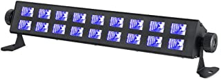 Powerful Black Lights, WOWTOU 395nm UV Bar LED Blacklight for Glow Dance Birthday Parties