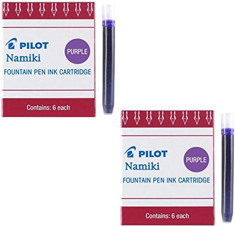 Pilot Namiki IC50 Fountain Pen Ink Pk Store Total Cartridge Max 88% OFF Purple 6