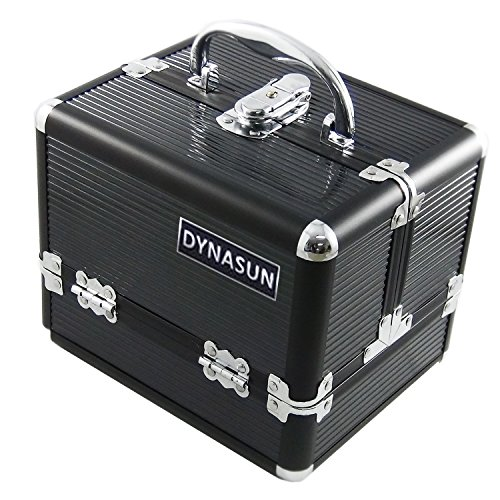 DynaSun Bs35 Beauty Case Make Up Nail Art Porta Gioie, Nero