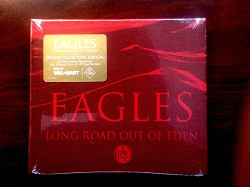 Eagles - Long Road Out Of Eden - LIMITED DELUXE COLLECTOR'S EDITION 20 Tracks, 2 BONUS Tracks and 40 Page Booklet