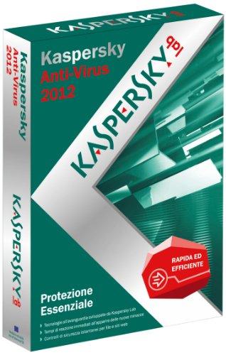 Kaspersky Antivirus 2012 (licenza 3 PC)