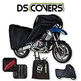 Motorrad Motorrad Abdeckplane Delta, schwarz, Größe L, Maße: L 229 cm x B 99 cm x H 120cm /Stück