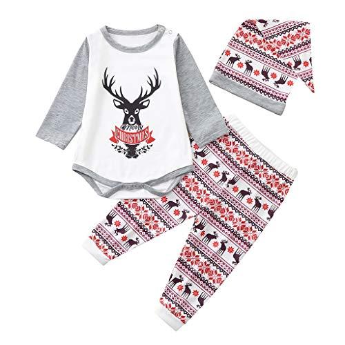 Weihnachten Schlafanzug- Familie Weihnachtspyjama Baumwolle Pyjama Set Gedruckt...