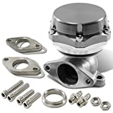 38mm Bolt-on 7/13/20 PSI External Turbo Exhaust Manifold Wastegate (Silver)