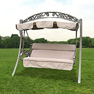 Garden Winds Arched Frame Swing 754222 Replacement Canopy Top Cover - RipLock 350