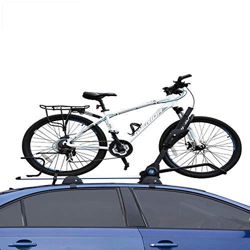 Autodach fahrradträger, Auto Mountainbike-Gepäckträger Feste Gepäckablage Automotive universal Car Top Bike Rack