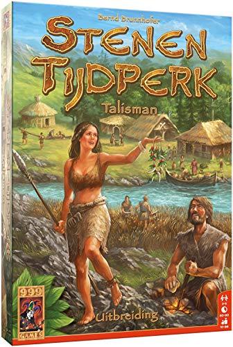 999 Games 999-Ste02 Stenen Tijdperk: Talisman Bordspel Bordspel, Multikleur