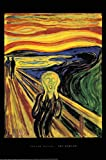 Close Up Edvard Munch The Scream Poster Der Schrei (61cm x