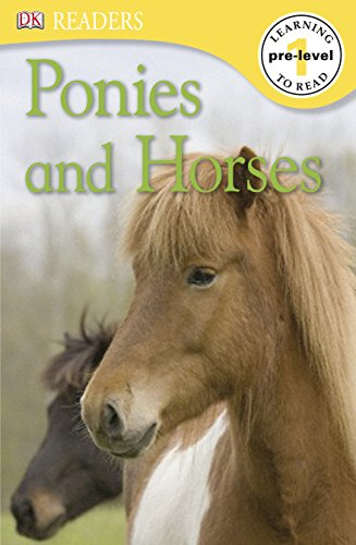 Ponies and Horses (DK Readers Pre-Level 1) (English Edition)