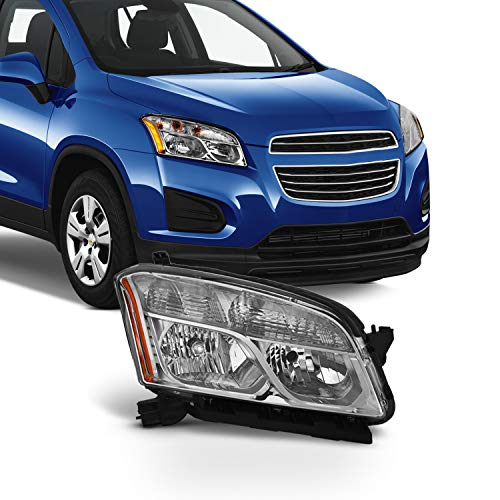 Fits 2015 2016 Chevy Chevrolet Trax Passenger Side Halogen Headlights Headlamps Assembly - Right