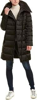 Women's Heavy Weight Asymetrical Zipper Closure Puffer Coat