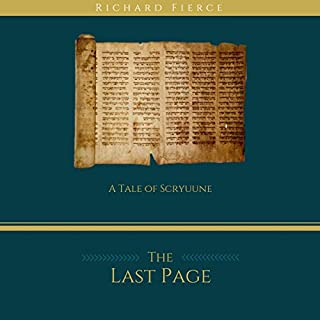 The Last Page audiobook cover art