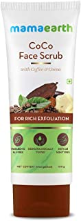 Mamaearth CoCo Face Scrub with Coffee & Cocoa for Rich Exfoliation - 100g