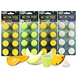 Nectar Pods (Variety 4 Pack) - Calcium-Fortified Jelly Fruit Treat - Sugar Gliders, Marmosets, Squirrels, Parrots, Cockatiels, Parakeets, Birds, Hamsters, Day Geckos, Kinkajous & Other Small Pets