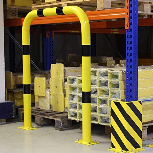 Bolardo de protección de seguridad Altura 1200 mm x longitud 750 mm