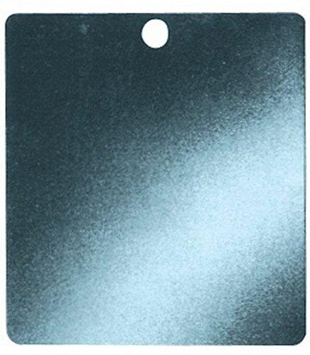 Ersatzspiegel Breite: 70mm Länge: 80mm Höhe: 1,0mm, 10 Stück