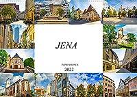 Jena Impressionen (Wandkalender 2022 DIN A2 quer): Zwoelf beeindruckende Bilder der Universitaetsstadt Jena (Monatskalender, 14 Seiten )
