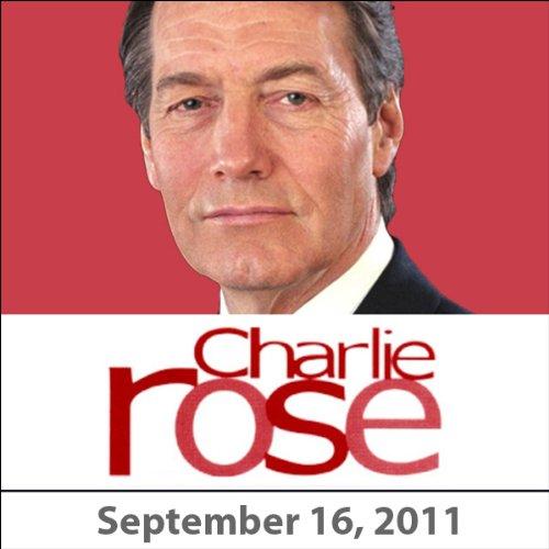 Charlie Rose: Lisa Randall and Simon Schama, September 16, 2011 audiobook cover art