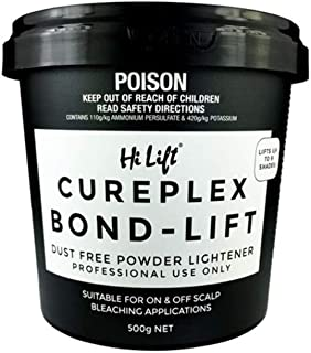 Hi Lift Cureplex Bond Lift Bleach 500g Dust Free Lightener Professional
