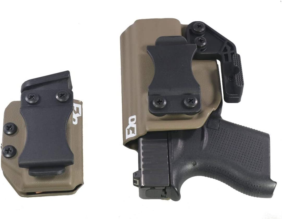 FDO Industries IWB famous Kydex Holster Glock Max 42% OFF Compatible with 43 w