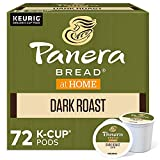 Panera Bread Dark Roast Coffee, Single-Serve Keurig K-Cup Pods, 100% Arabica Coffee, 72 Count