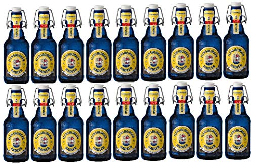 18 Flaschen Flensburger Radler BF a 0,33 L 2,4% vol. ink. MEHRWEG Pfand