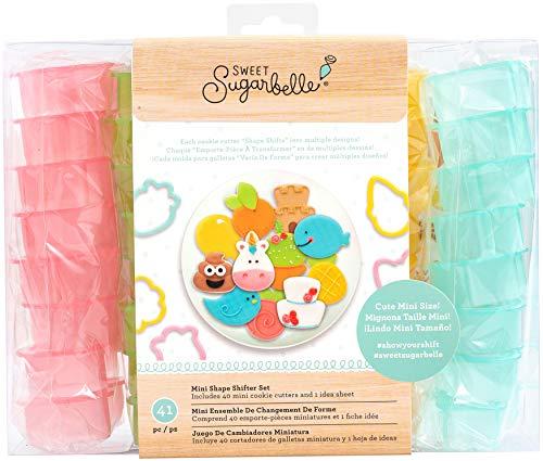 Sweet Sugarbelle Mini-Ausstechformen-Set mit Schalthebeln.