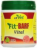 cdVet Naturprodukte Fit-Barf Vital 400 g - Dog - Wheat seedlings - bioenergetic Power - Immune System - strengthening The Body - folic Acid - lactating Dogs - Raw Feeding - Barf-