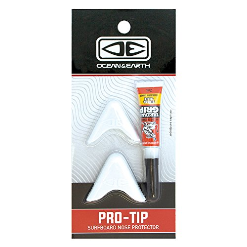 Ocean and Earth Surfboard Nose Protection Kit - White