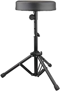 $36 » Drum Stool Adjustable Height Rotatable Drum Throne Padded Seat for Kid & Adult (Black)