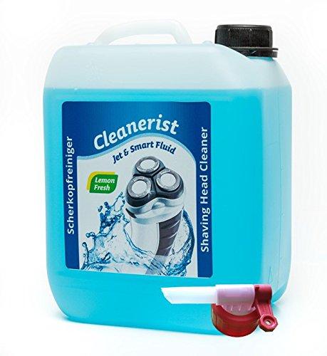 5 Liter im Kanister Scherkopfreiniger Cleanerist für Philips Rasierer der Serien 5000/7000 / 8000/9000 mit Auslaufhahn Sabeu FLUXX®