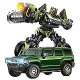 Ycco 01:14 Modello Trasformazione Giallo macchina giocattolo RC auto sportive for trasformatori Autobot One Button si trasformano in robot elettronico di telecomando RC Grand Sport Vitesse Acrobazia v