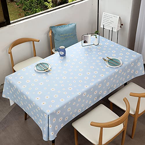 sans_marque Tablecloth, washable table cover that can be used to decorate the kitchen table and countertop buffet, and can be scrubbed tablecloth120*120cm