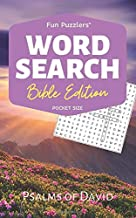 "Word Search: Bible Edition Psalms of David: 5"" x 8"" Pocket Size (Fun Puzzlers Travel Size Word Search Books)"