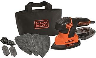 BLACK+DECKER KA2000-QS Levigatrice Mouse 120 W