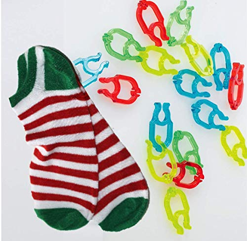 Sock Cop Sock Clips - 2 Pack Special (40 ct)